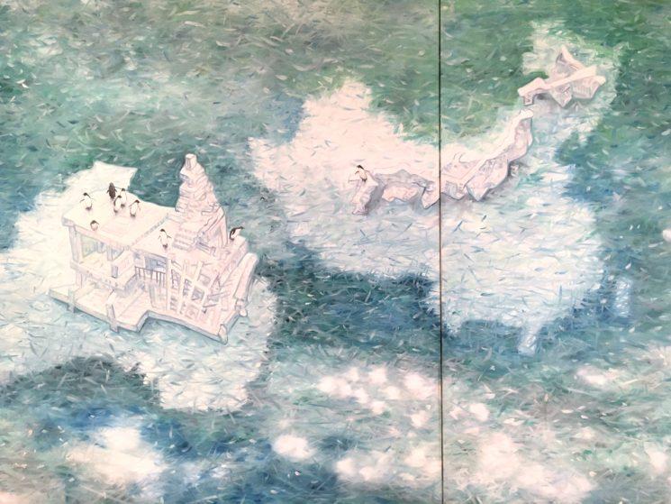 タグチ・アートコレクション 大岩オスカール 氷山